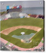 World Series Batting Practice - Att Park Acrylic Print