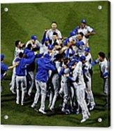 World Series - Kansas City Royals V New Acrylic Print