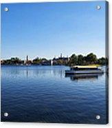 World Showcase Lagoon Walt Disney World Acrylic Print