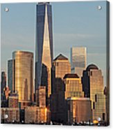 World Trade Center Freedom Tower Nyc Acrylic Print