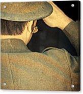 World War 1 Soldier Acrylic Print