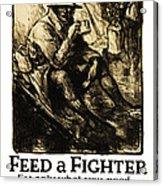 World War 1 - U. S. War Poster Acrylic Print by Daniel Hagerman
