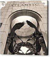World War 2 Atlantic Memorial Acrylic Print