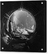 World War 2, Battle Of Britain. Subway Acrylic Print