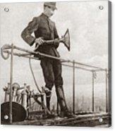 World War I Air Raid Siren Acrylic Print