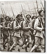 World War I Paris, C1917 Acrylic Print