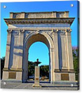 World War I Victory Arch Newport News Acrylic Print
