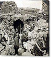 World War I: Wounded, 1918 Acrylic Print