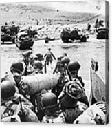 World War II: D-day, 1944 Acrylic Print