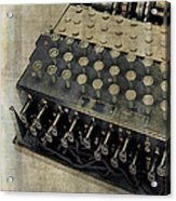 World War II Enigma Secret Code Machine Acrylic Print