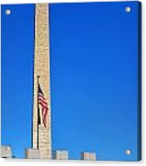 World War II Memorial And Washington Monument Acrylic Print