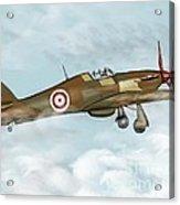 world war II plane Acrylic Print