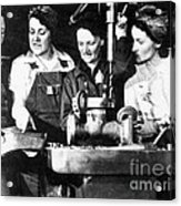 World War II Workers Acrylic Print