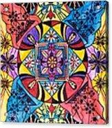 Worldly Abundance Acrylic Print