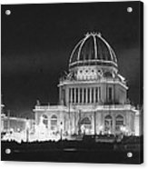 Worlds Columbian Exposition Administration Building Chicago 1893 Acrylic Print