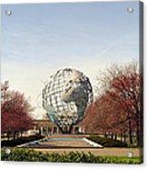 World's Fair Globe Corona Park  Acrylic Print