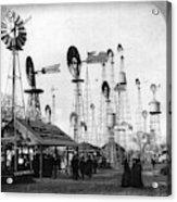 World's Fair Windmills Acrylic Print