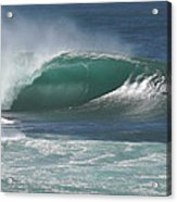 World's Most Perfect Wave . . . Acrylic Print