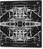 Worm Hole Generator Acrylic Print