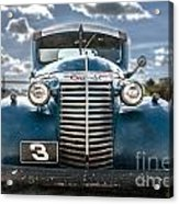 Worm Truck Acrylic Print
