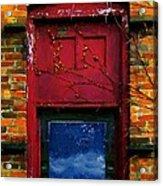 Wormhole Window Acrylic Print