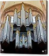 Worms Cathedral Organ Acrylic Print