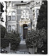 Wormser-coleman Victorian Mansion - San Francisco Acrylic Print