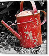 Worn And Weathered Acrylic Print