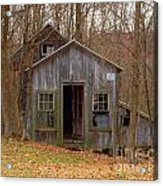Worn Out Shed Acrylic Print