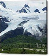 Worthington Glacier Acrylic Print