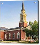 Worthington Presbyterian Church Acrylic Print