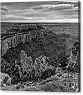 Wotan's Throne North Rim Grand Canyon National Park - Arizona Acrylic Print