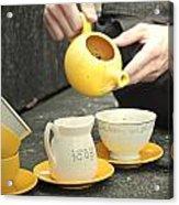 Would You Like A Little More Tea Acrylic Print