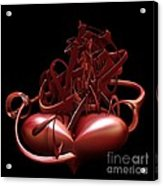 Wounded Heart Acrylic Print