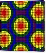 Woven Circles Acrylic Print
