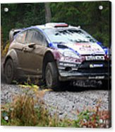 Wrc In The Woods Acrylic Print