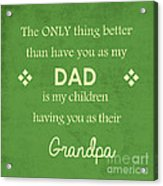 Father's Day Acrylic Print