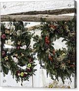 Wreaths For Sale Colonial Williamsburg Acrylic Print