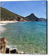 Wreck Beach Shoal Bay Port Stephens Acrylic Print