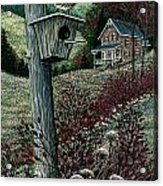 Wren House Acrylic Print