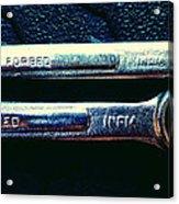 Wrench Handles F Acrylic Print