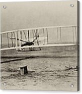Wright Brothers - First In Flight Acrylic Print