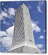 Wright Brothers Memorial Acrylic Print