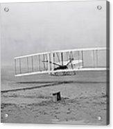Wright Flyer At Kitty Hawk North Carolina Acrylic Print