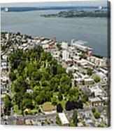 Wright Park, Tacoma Acrylic Print