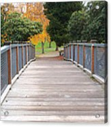Wrights Park Bridge Acrylic Print