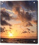 Wrightsville Beach At Sunrise Acrylic Print