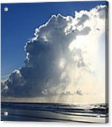 Wrightsville Beach Skyscape Acrylic Print