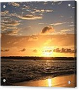 Wrightsville Beach Sunset Acrylic Print