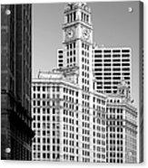 Wrigley Building - A Chicago Original Acrylic Print by Christine Till